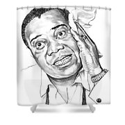 Louis Satchmo Armstrong Shower Curtain
