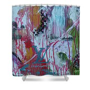 Louis Vuitton Abstract Shower Curtain