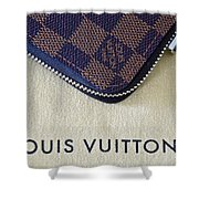 Louis Vuitton Shower Curtain