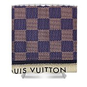 Louis Vuitton Mens Wallet Shower Curtain