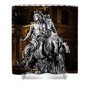 Louis Xiv By Bernini Shower Curtain