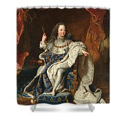 Louis Xv Of France As A Child Shower Curtain