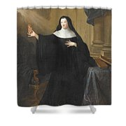 Louise Adelade Shower Curtain