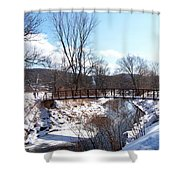 Louisen's Stowe 23 Shower Curtain