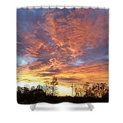 Louisiana Sunset 1 Shower Curtain