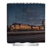 Louisville And Indiana Railroad At Jeffersonville Indiana Shower Curtain