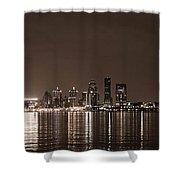 Louisville Lights Shower Curtain