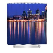 Louisville Lights Up Nicely Shower Curtain