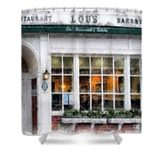 Lou's Of Hanover New Hampshire Shower Curtain