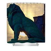 Louve Lion Shower Curtain