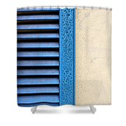 Louvered Shower Curtain