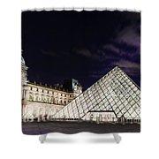 Louvre Museum 2 Art Shower Curtain