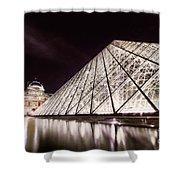 Louvre Museum 4 Art Shower Curtain