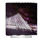 Louvre Museum 5 Art Shower Curtain