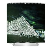Louvre Museum 5b Art Shower Curtain