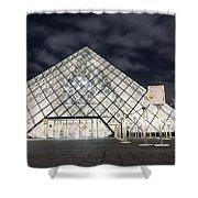 Louvre Museum Art Shower Curtain