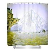 Louvre Museum Shower Curtain