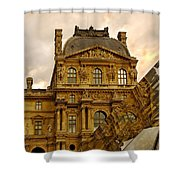 Louvre Reflection Shower Curtain
