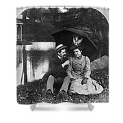 Love, 1900 Shower Curtain
