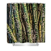 Love And Bamboo Shower Curtain