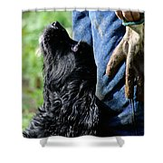 Love And Devotion Shower Curtain