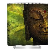 Love And Happiness Shower Curtain