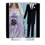 Love And Marriage Shower Curtain