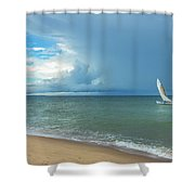 Love And Serenity Shower Curtain
