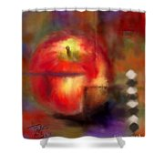 Love At First Bite Shower Curtain