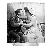 Love, C1890 Shower Curtain