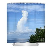 Love Clouds Shower Curtain