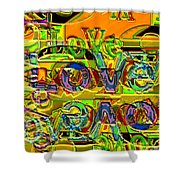 Love Contest Shower Curtain