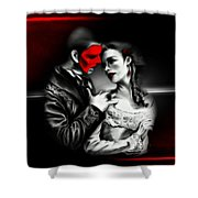 Love Couple 2 Shower Curtain