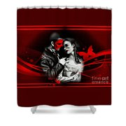 Love Couple 3 Shower Curtain