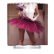 Love Dance Shower Curtain