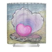 Love Endures All Things Shower Curtain