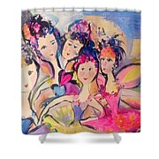 Love Fairies   Shower Curtain