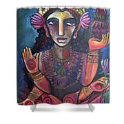 Love For Lakshmi Shower Curtain