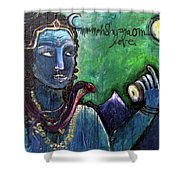 Love For Shiva Shower Curtain