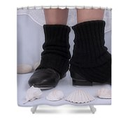 Love For Tap Dance Shoes In Dance Warmers Shower Curtain