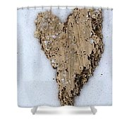 Love Found Everywhere  Shower Curtain