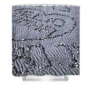 Love Gives Time Shower Curtain