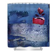 Love Growth - V2t2c3b Shower Curtain