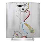 Love Holds Us Together Shower Curtain