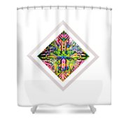 Love In A Mist 2 Shower Curtain