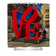 Love In Nyc Shower Curtain