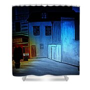 Love In San Fele Shower Curtain