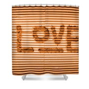 Love Is All Shower Curtain