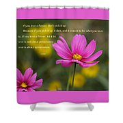 Love Is Appreciation Shower Curtain