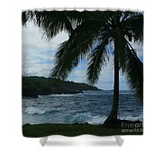 Love Is Eternal - Poponi Maui Hawaii Shower Curtain